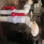 High pressure pool pipe repair